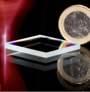 Un « sabre » laser pour découper le verre